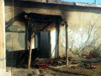 Konya'da ev yangını: Kullanılamaz hale geldi