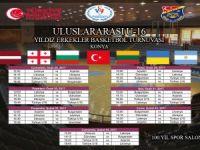 Uluslararası U16 Basketbol Turnuvası Konya'da başlıyor