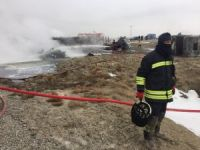Konya'da Tır ile Çarpışan Yakıt Tankeri Patladı: 2 ÖLÜ
