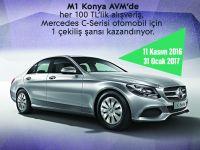 Mercedes C180 Style kazanma şansı M1 AVM'de