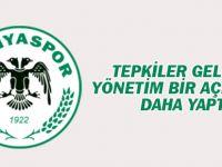 Konyaspor'dan bir açıklama daha: Aykur Kocaman değerimiz