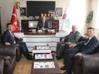 MEDAŞ'tan Başkan Gün'e Ziyaret