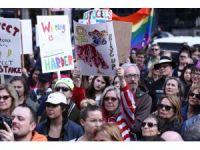 """ABD'deki Trump karşıtı """"Başkanlık Günü"""" eylemleri"""