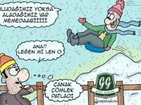 """""""3G: GÜZEL GONYAM'DA GIŞ"""" ÇIKIYOR"""
