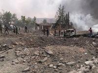 Bab'ın kuzeyine bombalı araçla saldırı