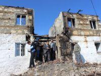 Beyşehir'de Evi Yanan Aileye Ziyaret