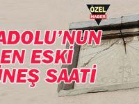 Anadolu'nun en eski güneş saati