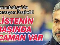 Fenerbahçe'de Operasyon Başladı!