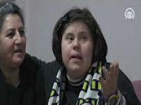 """Down sendromlu Serap """"koruyucu annesi""""nin meleği oldu VİDEO HABER"""