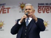 Başbakan Yıldırım: Manşet atarak hükümete ayar vermeye çalışıyorlar