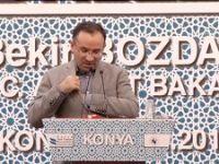 Bekir Bozdağ Konya'da konuştu