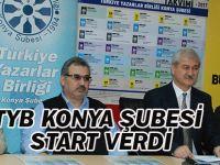 TYB Konya Şubesi start verdi…