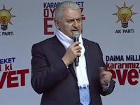 Başbakan Yıldırım: 16 Nisan'da Türkiye 'evet'le Avrupa'yı inletecek