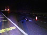 Konya'da yolcu otobüsünün çarptığı yaya öldü