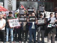 SÜ'de Amerika ve İsrail protesto edildi