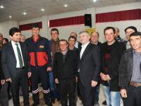 Derbent, Tahir Akyürek'i ağırladı