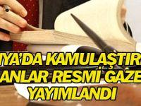 Konya'da kamulaştırma kararları Resmi Gazete'de yayımlandı