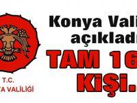 Konya'da FETÖ'den tutuklanan memur sayısı açıklandı