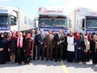 Konya Anadolu İmam Hatip Lisesinden 4 tır yardım