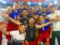Büyükşehir Belediyespor, final'de