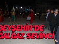 Beyşehir'de 'Doğalgaz' Sevinci