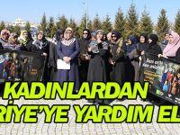 Kadınlardan Suriye'ye yardım eli