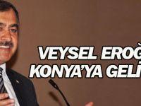 Veysel Eroğlu Konya'ya geliyor
