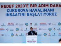 Çukurova Havalimanı İnşaatını Başlatma Töreni