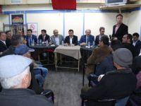 Altunyaldız, Karapınar'da referandum çalışmalarına devam etti