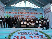 Konya'ya 197 milyonluk bereket yatırımı