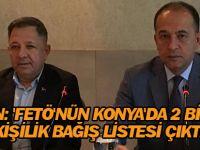 'FETÖ'nün Konya'da 2 bin 700 kişilik bağış listesi çıktı'