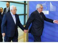 Filistin Devlet Başkanı Abbas, Brüksel'de