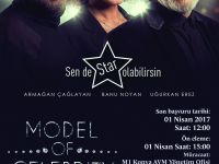 Model Of Celebrıty 1 Nisan'da M1 Konya'da