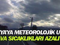 Konya'ya meteorolojik uyarı! Hava sıcaklıkları azalıyor