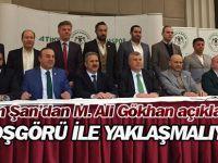 Ahmet Şan'dan M. Ali Gökhan açıklaması