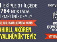 Konya'da Büyükşehir yatırımları