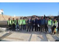 Sivas Valisi Gül yeni kültür merkezindeki çalışmaları inceledi
