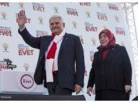 AK Parti'nin Edirne mitingi VİDEO HABER