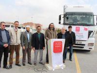 AID'den Suriye'ye sağlık TIR'ı