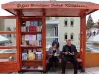 Yozgat'ta 'sokak kütüphaneleri' oluşturuldu