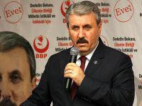 """BBP Genel Başkanı Destici'den """"bedelli"""" açıklaması"""
