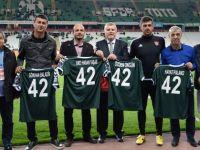 4 Eski futbolcu 'Efsanelere Vefa Töreni'nde ödüllendirildi