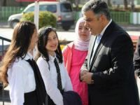 Başkan Özgüven, öğrencilere moral verdi