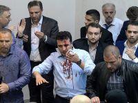 Makedonya Meclisindeki gerginlik