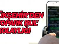 Konya'da Sürücülere Mobil Uygulamadan Otopark Bulma Kolaylığı