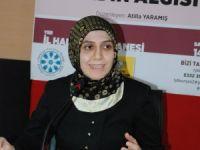 """TYB Konya Şubesi'nde """"Kur'ân'da Kadın Algısı"""" konuşuldu"""