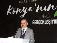 """Konya'nın 5A sınıfı konut projesi """"Dilek Garden"""" tanıtıldı"""