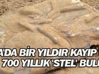 Konya'da Bir Yıldır Kayıp Olan 2 Bin 700 Yıllık 'Stel' Bulundu