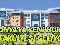NEÜ Hukuk Fakültesi eğitime başlıyor