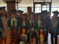 Cengiz Topel İlkokulu'nda mezuniyet sevinci